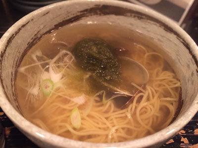 神戸 ラーメン ボンゴレ亭 貝汁そば