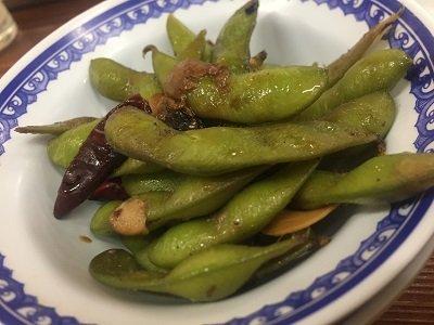 大阪 大衆食堂 そのだ 枝豆