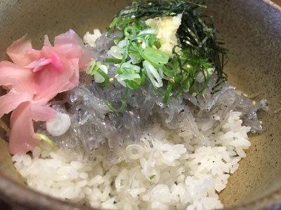 明石 漁師寿司 海蓮丸 生 しらす丼