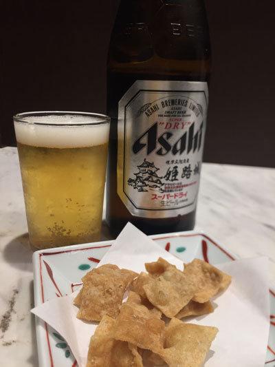 姫路 蕎麦 御座候 瓶ビール