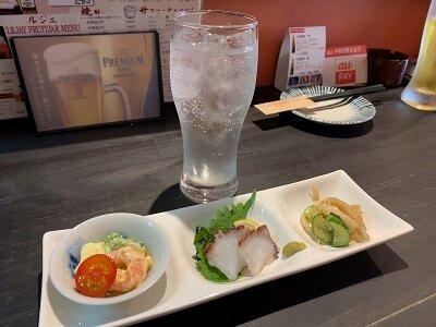 明石 立呑みキッチン Gala 平日限定セット