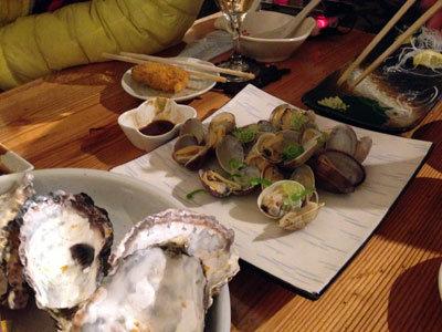 赤穂 牡蠣 かましま アサリ酒蒸し