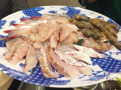第四回 前どれ会 ぽっぽ家 海鮮鍋 魚