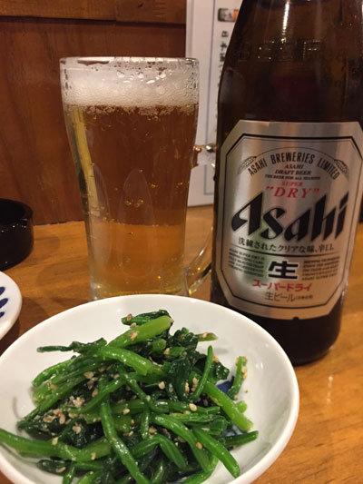 姫路 炭焼 鳥よし 瓶ビール