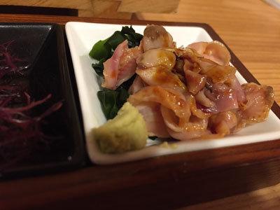 姫路 立喰い 寿司 魚路 貝ひも