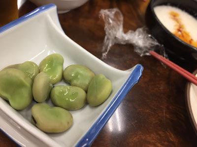 神戸 元町 金時食堂 ソラマメ