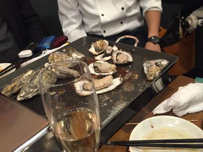 明石 牡蠣 タコ 居酒屋 明石 蒸し牡蠣