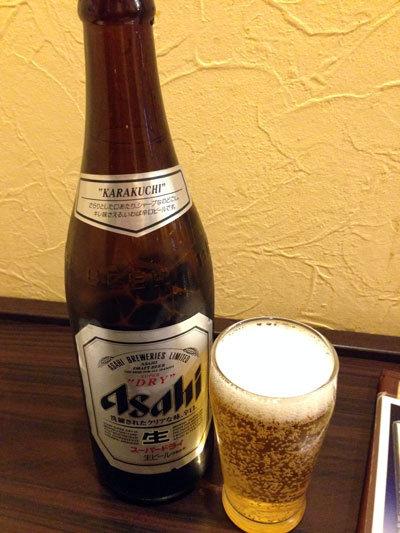 姫路 炭火焼鳥 ゆ鳥 お溝筋店 ビール
