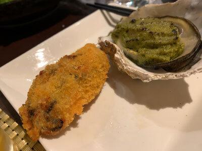 赤穂 牡蠣 かましま コース料理