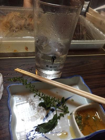 姫路 路地裏 居酒屋 慶 チューハイレモン