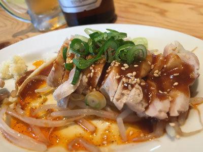 姫路 タンメン姫路 ピリ辛蒸し鶏
