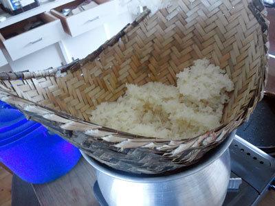姫路 ラオスの食堂 もち米