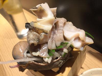 姫路 立吞み 卯の助 ニシ貝
