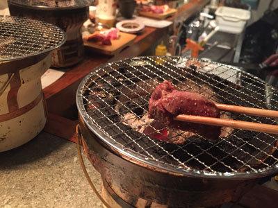 姫路 炭火焼肉 金べこ 厚切り 塩タン