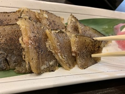 姫路 天晴水産 ぽっぽ家 骨まで美味しい 舌平目