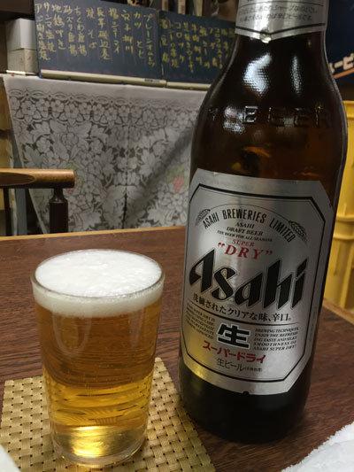神戸 大衆居酒屋 食通 権太 瓶ビール