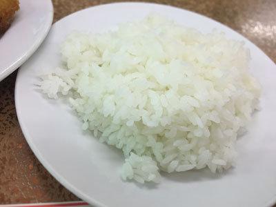 神戸 新開地 洋食 金プラ Aランチ ライス