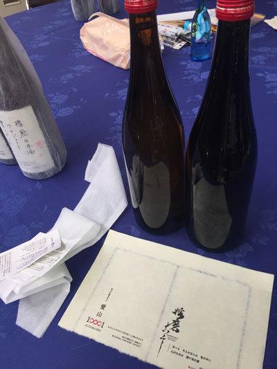 壺坂酒造 播磨日本酒プロジェクト ラベル作成