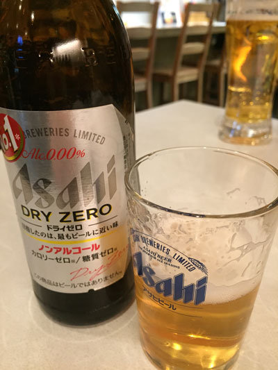姫路 居酒屋 おばはん ノンアルコールビール