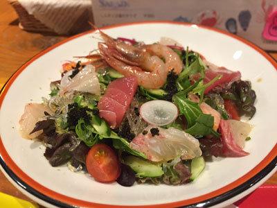 姫路 寿司 アバンサール 海鮮サラダ