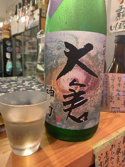 明石 ワイン酒場 Ace 日本酒 大倉