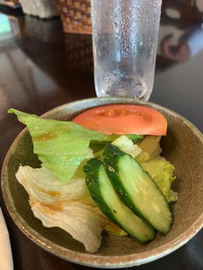姫路 とんかつ・ステーキ 四季 サラダ