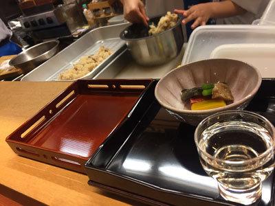 日本酒 ゴーアラウンド神戸 割烹料理 江川 野菜の煮もの