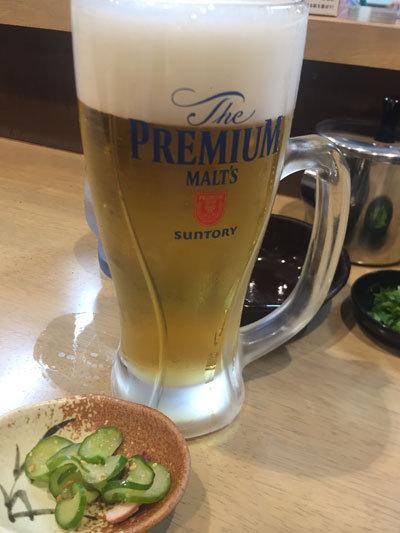 明石 魚の棚商店街 明石焼き たこ磯 生ビール