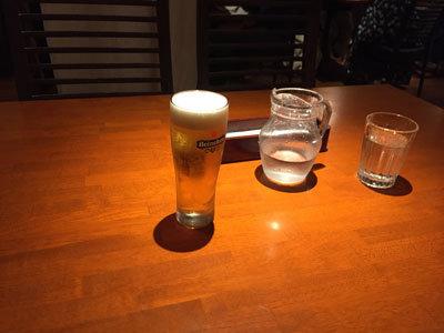 姫路 アジアンダイニング 金魚蘭 生ビール