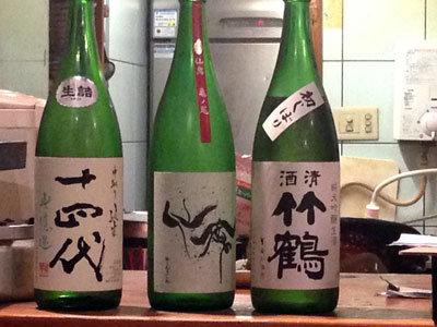 西明石 居酒屋 じゃい庵 こだわりの日本酒