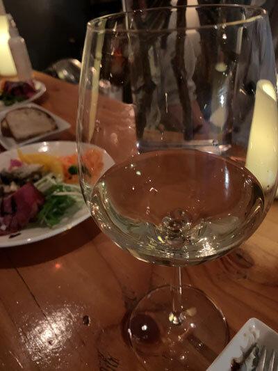 姫路 wine&cafe Reviere 白ワイン