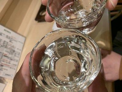 姫路 寿司 松葉寿し 乾杯