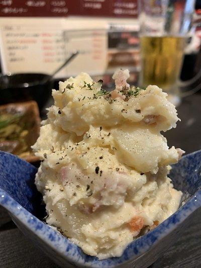 姫路 串かつ 朧 ポテトサラダ