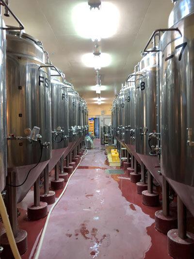 クラフトビール タンク