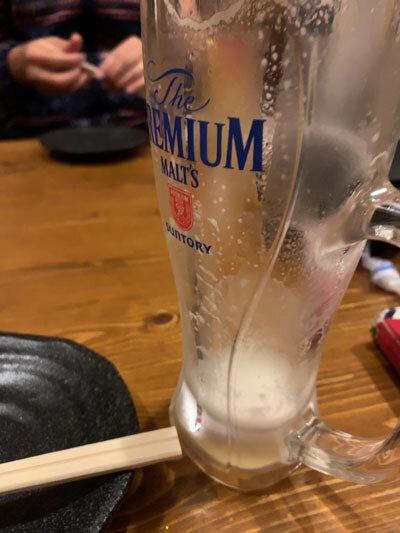 久留米 焼鳥 天神 生ビール
