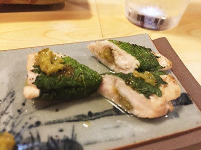 姫路 西井のやき鳥一番 ささみ 柚子胡椒
