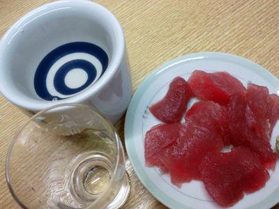 垂水 立呑み処 立ち飲み 若汐 マグロ 日本酒