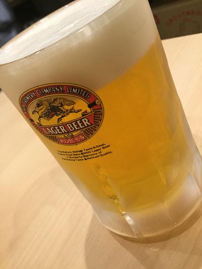 明石 卵焼き専門店 松竹 生ビール