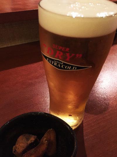 姫路 居酒屋 おばんざい 小廣 生ビール