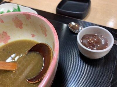 姫路 うどん 都庵 定食 デザート