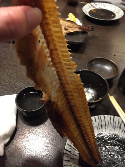 姫路 某チェーン店 ホッケ 骨せんべい