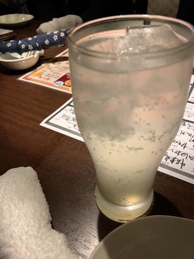 姫路 食楽酒場 大黒や チューハイ