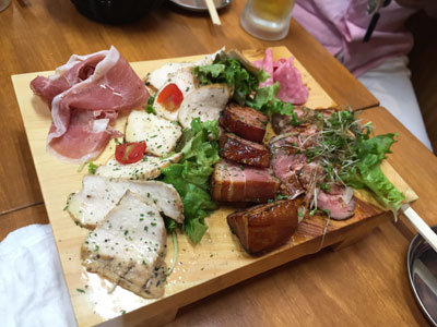 姫路 イタリアン酒場 MARUMASA 肉だけの前菜盛り