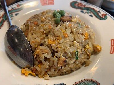 姫路 中華料理 九龍 炒飯