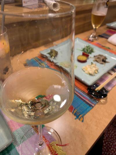 加古川 小料理 馬馬家 白ワイン