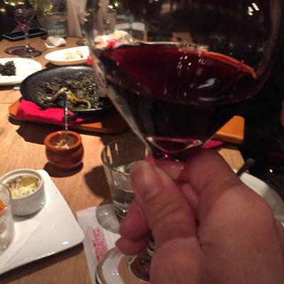 姫路 イタリアンバル BAR MAR 赤ワイン