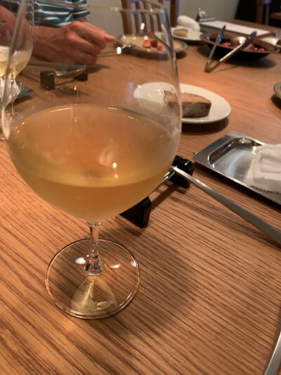 姫路 ネオビストロ Aigrette 白ワイン