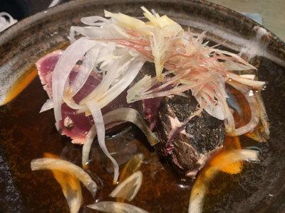 姫路 魚町 土佐料理 よさこい カツオたたきタレ
