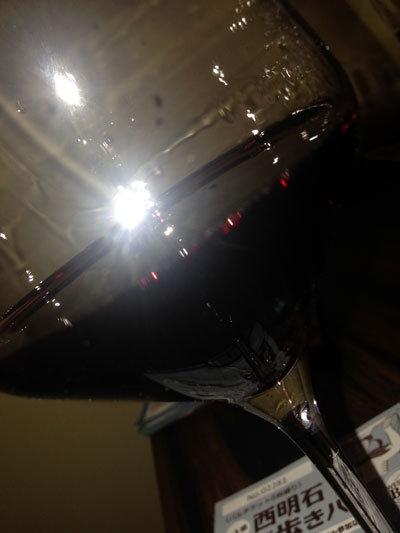 西明石 Bar 眞 赤ワイン