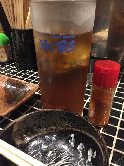 姫路 焼肉 串やき 五味屋 麦焼酎